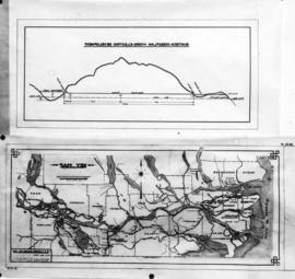 Buntzen-Coquitlam hydro-electric development - Key map