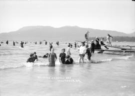 Bathing. English Bay. Vancouver, B.C.