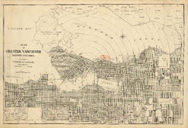 Plan of Greater Vancouver. British Columbia