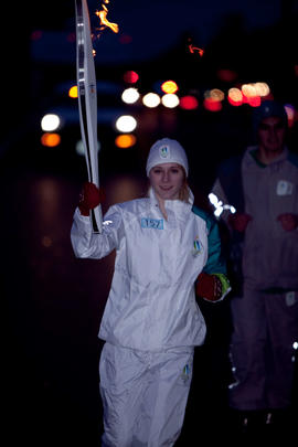 Day 004, torchbearer no. 157, Mackenzie Roth - Campbell River