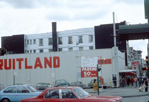 Corner Of Gore Avenue And East Hastings Street