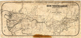 Map of New Westminster District, B.C.