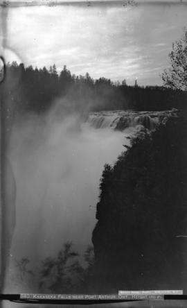 Kakabeka Falls near Port Arthur, Ont. Height 170 ft.