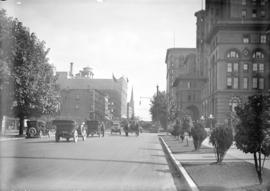 [View of Georgia Street, looking east from Court House]