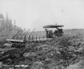 Minnekahda Ranch [Pitt Meadows] - [tilling soil]