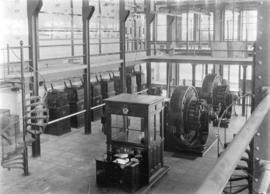 [Interior of B.C. Electric Railway Company Limited power station]