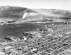 [Eastern view of Vancouver's waterfront]