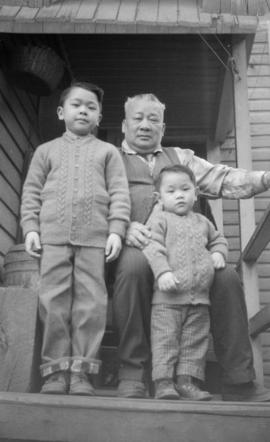 Vernon Yee, Paul Yee and unidentified man