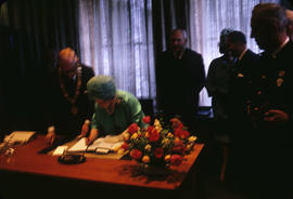 City Hall; Queen Mother Signing Book