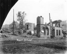 Post office [after fire of September 10, 1898]