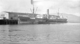 S.S. Nippon [at Great Northern Railway dock No.1]