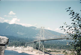 [View of the Lions Gate Bridge from Prospect Point]