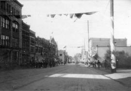 [Northern view of Granville Street during the visit of the Duke and Duchess of Cornwall and York]