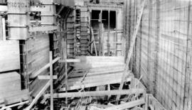 [Job no. V-9, 9a] : photo no. 2 : [photograph of construction site for Imperial Oil service stati...