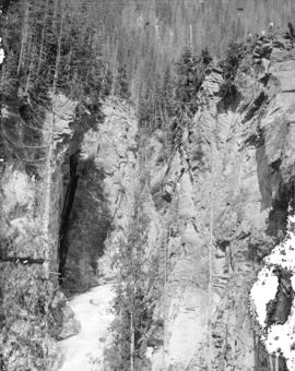 """Albert Canyon"". C.P.R. Selkirk Mountains"