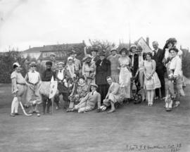 [A costume luncheon at Quilchena Golf Course]