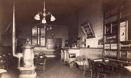 [Interior of Secord House showing reception area]