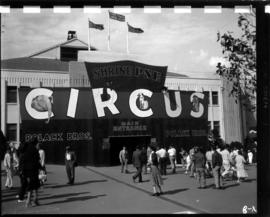 Main entrance to Shrine P.N.E. Circus at Forum building