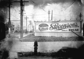 Taken for Duker and Shaw Ltd., billboard advertising [Stevenson's Bread]
