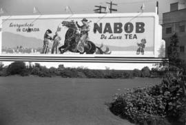 [Billboard for Nabob tea]