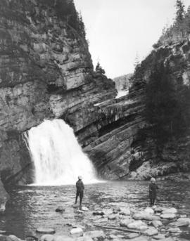 [Cameron Falls in Waterton Lakes National Park]