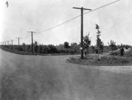 [Granville Street at Connaught Drive and 29th Avenue looking south]