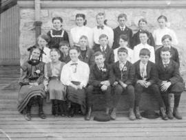 [The 'entrance' class of Seymour School]