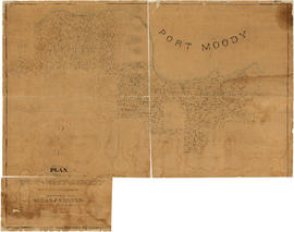 Plan of the Town of Port-Moody, British Columbia