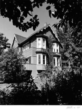 Fitzgerald McCleery house (2610 Southwest Marine Drive), side facade