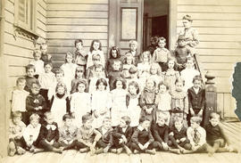 [Class portrait at] West School, Vancouver B.C.