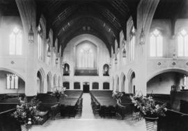 The nave, north and south transepts, from the chancel [St. Andrew's Wesley United Church]