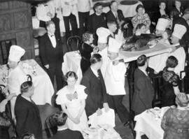 [St. George's Day banquet at the old Hotel Vancouver]