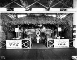Geo. Payne's display of tea