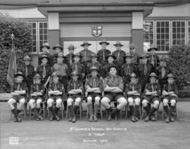 "St. George's School Boy Scouts - ""A"" Troop - Summer 1953"