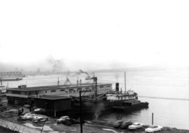 "[Northland Navigation Co. Ltd. Vessel ""Alaska Prince"" at Northland Dock]"