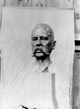 [Bust of] Frankfort Moore, Novelist by Sydney March