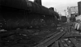 Vancouver East [filling barrels from RR tank cars]