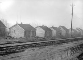 Wartime housing cottages