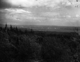 [View from British Pacific Properties during visit of  King George VI and Queen Elizabeth]