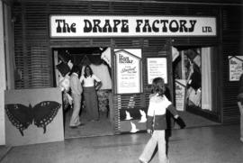 The Drape Factory display