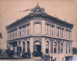 Bank of British Columbia, New Westminster [Columbia and Mary Streets]