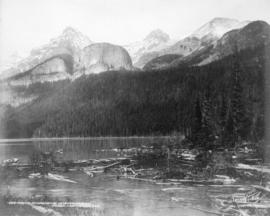 Portion of Lake Louise, near Laggan, Alta.