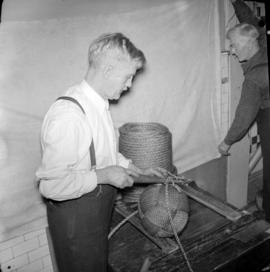 Captain Palmer's rope making