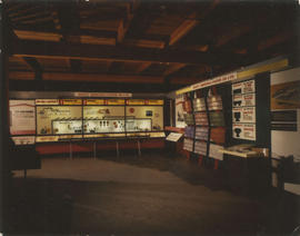 1958 PNE building wing : [Sidney Roofing and Paper Co. display]