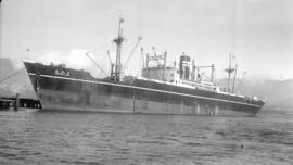 S.S. Timotama Maru [at dock]