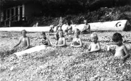 Picnic at Garrow Bay : [The gang]