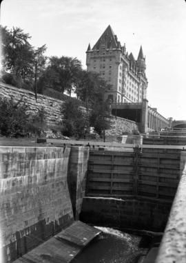 Locks and Chateau Laurier