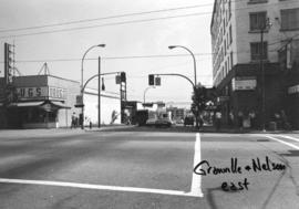 Granville and Nelson [Streets looking] east