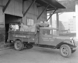 B.C. Electric Freight Truck