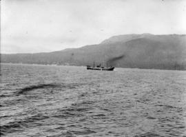 """War Dog"" on trials [in Burrard Inlet]"